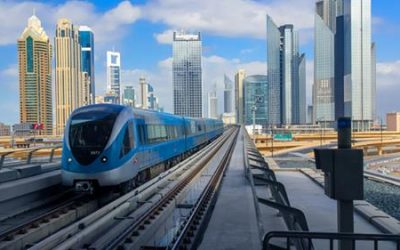 Connecting to Dubai metro's Wi-Fi to go faster than the trains