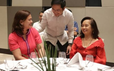 LOOK: Macapagal-Arroyo, Sara Duterte meet for 'thank you lunch'