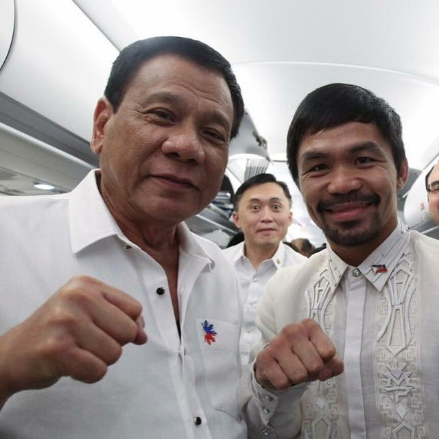Duterte urges Pacquiao to retire from boxing