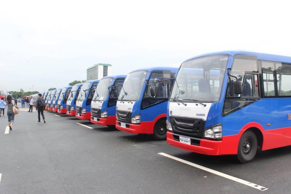 WATCH: New PUVs hit Philippine roads
