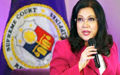 SC scolds Sereno over statements vs justices