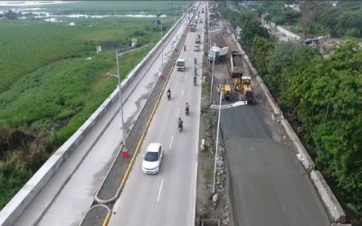 Alternative route to EDSA, C-5 from Rizal is almost complete