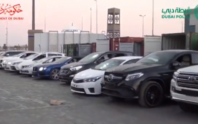 WATCH: Attempt to smuggle Dh11 M worth of luxury cars botched