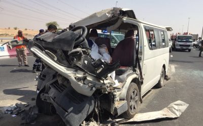 3 dead, 8 injured in Dubai crash