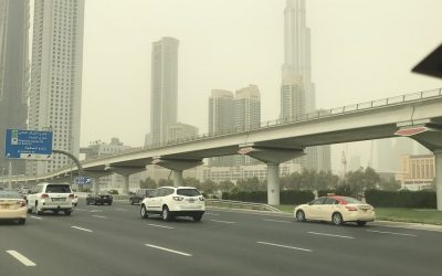Hazy, dusty weather in UAE to linger for a week
