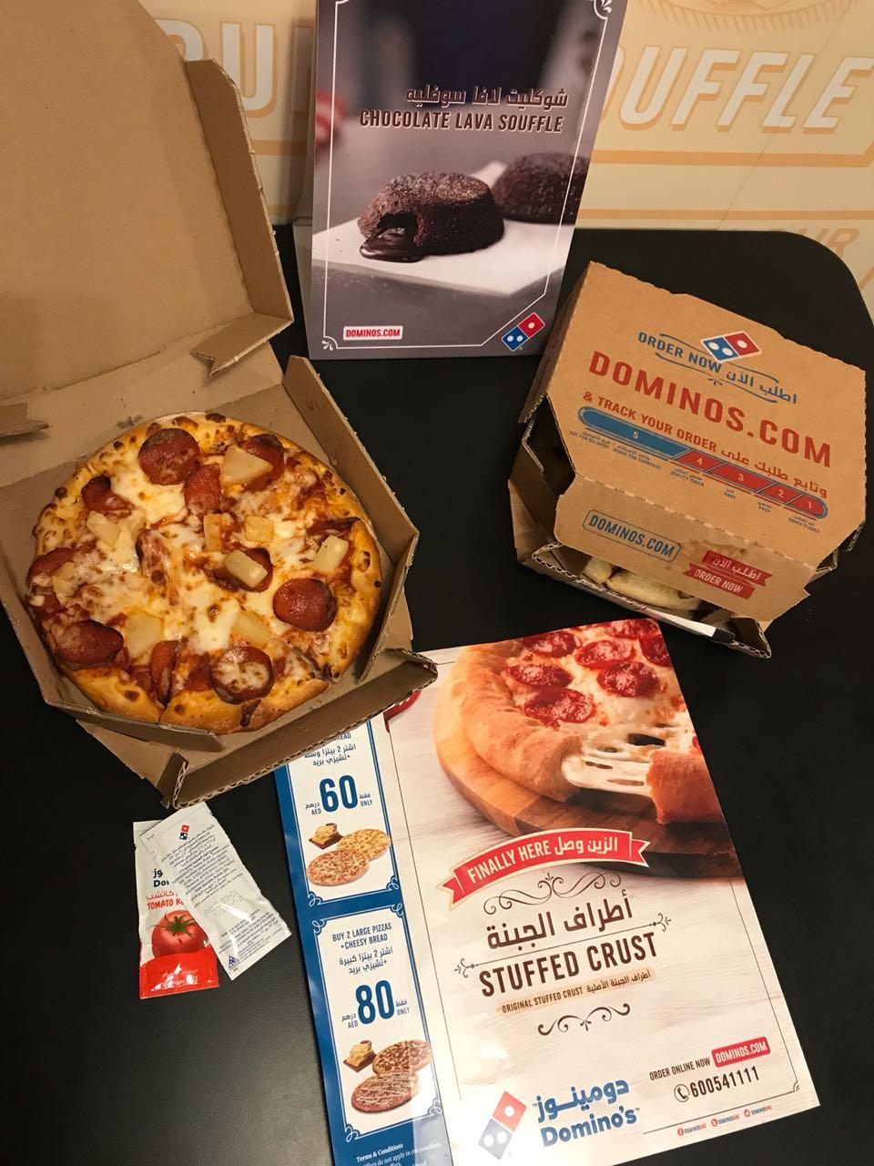 Domino's Pizza opens 3 news stores in Dubai - The Filipino Times