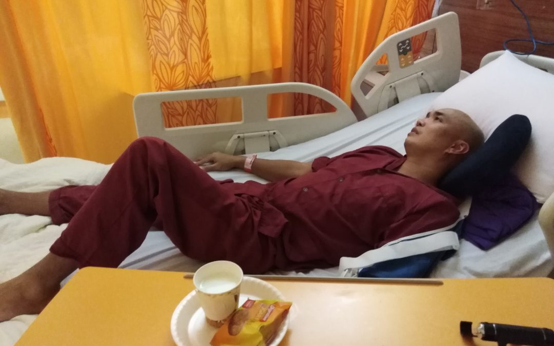 PCG attends to Pinoy jobhunter hospitalized while on visit visa