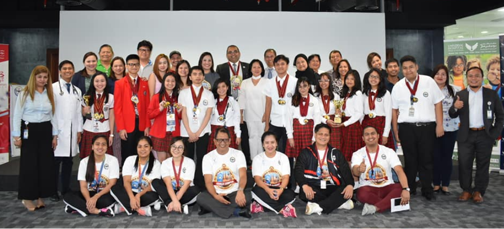 World Scholars' Cup winners from PEPS thank Universal Hospital for support