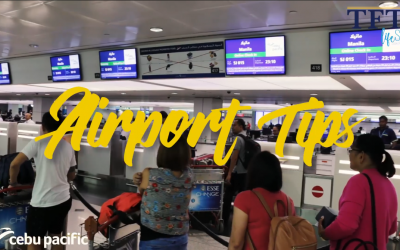 Cebu Pacific shares 10 tips travelers should never forget at the airport