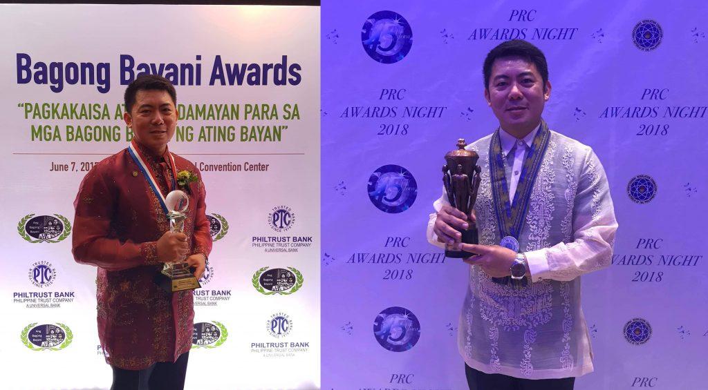 "Filipino Engineer based in Abu Dhabi receives ""Bagong Bayani"" and PRC award"