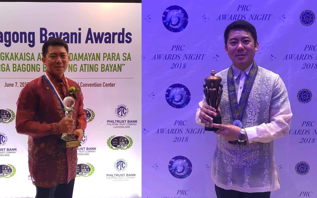"Filipino Engineer based in Abu Dhabi receives ""Bagong Bayani"" and PRC award"