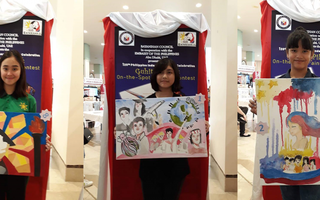 Guhit Pilantik on-the-spot drawing contest hails Abu Dhabi's young artists