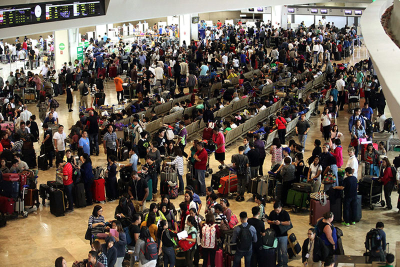 Airport authorities prepare for holiday rush