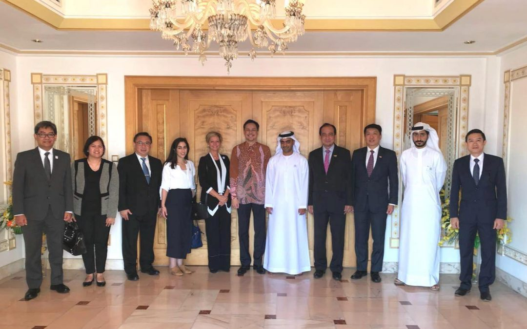 Philippine Embassy joins ASEAN Committee in Abu Dhabi meeting with Special Olympics World Games 2019 Officials