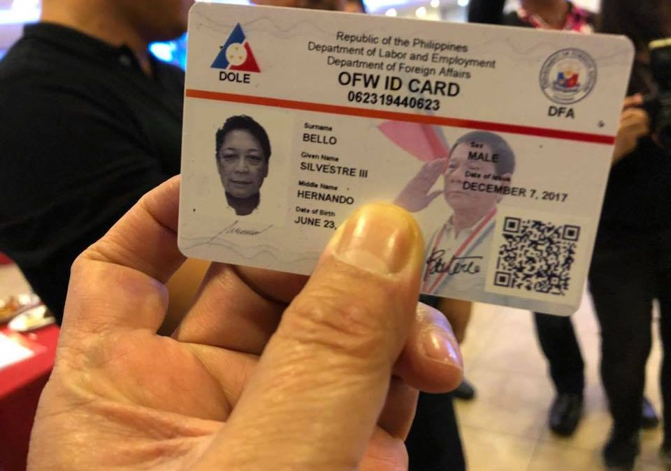 Solon questions DOLE over alleged Php720 fee for OFW ID