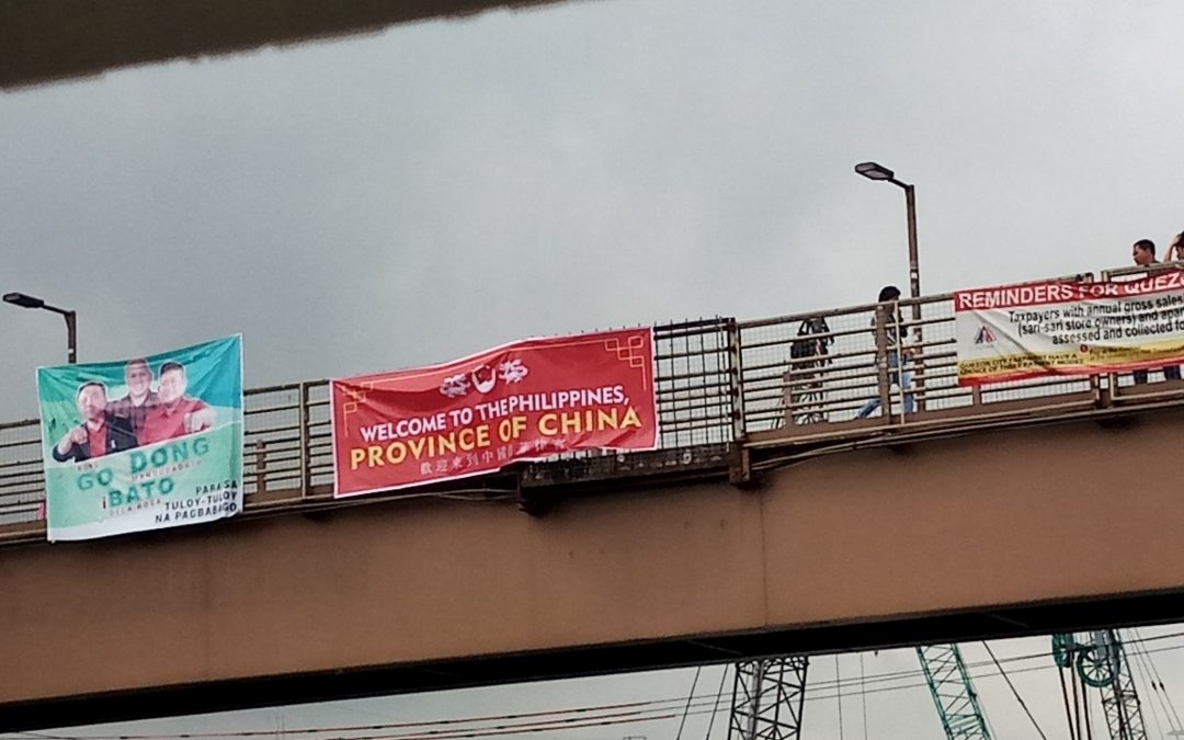 """Welcome to the Philippines, Province of China"" banners in Metro Manila spark online uproar"
