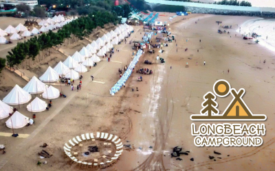 Experience a unique beach camp adventure at The Long Beach Campground Bin Majid Beach Hotel – Ras Al Khaimah
