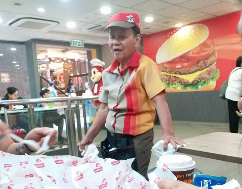 Filipina fast-food crew in HK proves mindset matters over age