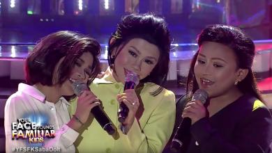 "Photo of WATCH: ""Your Face Sounds Familiar Kids"" recreates iconic DoReMi trio"