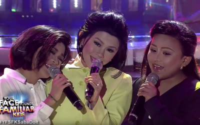 "WATCH: ""Your Face Sounds Familiar Kids"" recreates iconic DoReMi trio"