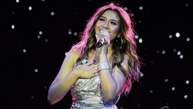Photo of WATCH: Morissette Amon misses whistle note but here's what she does