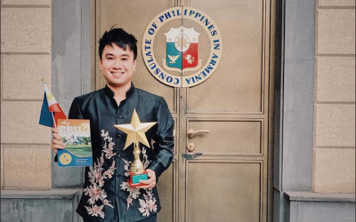 PH Pride: Pinoy student wins international arts competition in Armenia