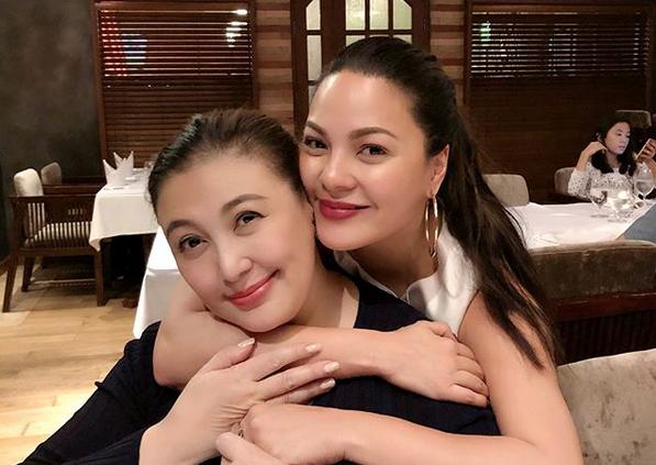LOOK: Sharon Cuneta, KC Concepcion reunite amid rumored rift