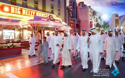 IN PHOTOS: UAE leaders spearhead launch of Warner Bros. World Abu Dhabi