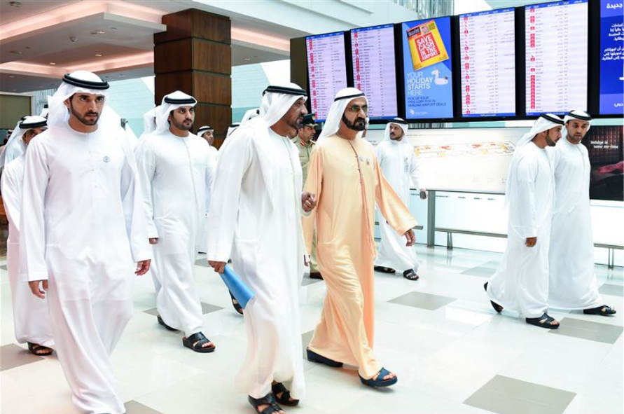 UAE Vice President visits Dubai International Airport