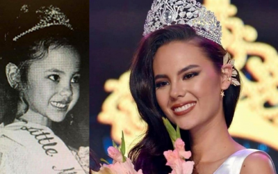 Fans of Catriona Gray find Little Miss Philippines throwback photos of her