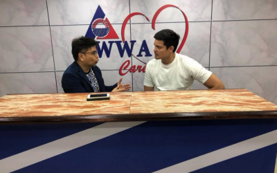 Dingdong Dantes commends Arnell Ignacio for helping OFW