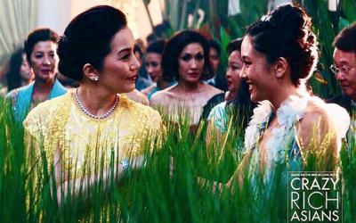 "Kris Aquino wears Michael Cinco gown in ""Crazy Rich Asians"""