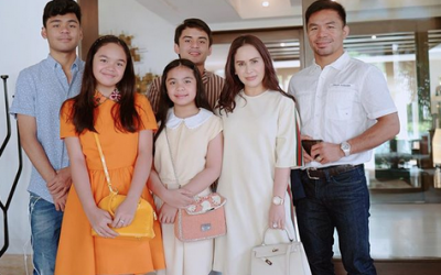 WATCH: Pacquiao family shows new mansion in Makati