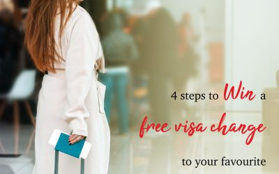Get your visa change to 10 new destinations for free!