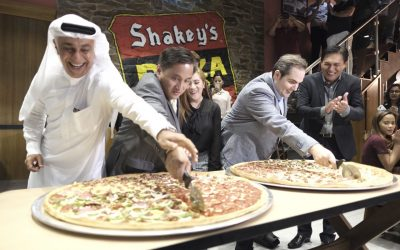 Shakey's Pizza is now open in Dubai!
