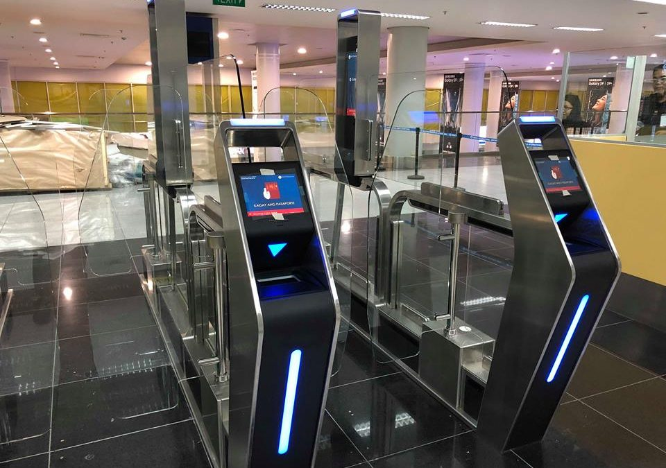Immigration e-gates at NAIA Terminal 3 now functional