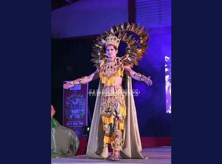 PH bet wins first runner up at Man of the World 2018