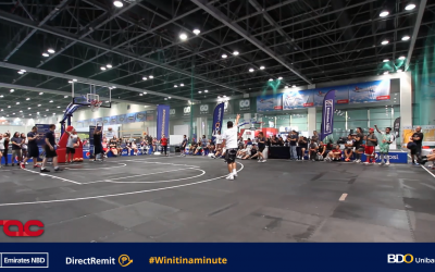 Emirates NBD & BDO Unibank DirectRemit challenges OFWs to a Basketball Shootout!