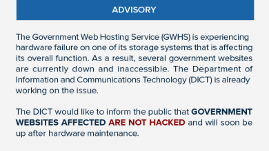 Photo of Websites of PH embassy, consulate in Dubai affected by server malfunction