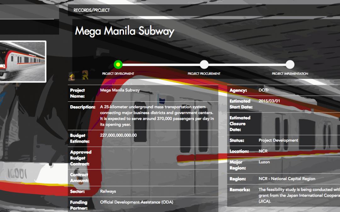 Mega Manila Subway construction to begin in December