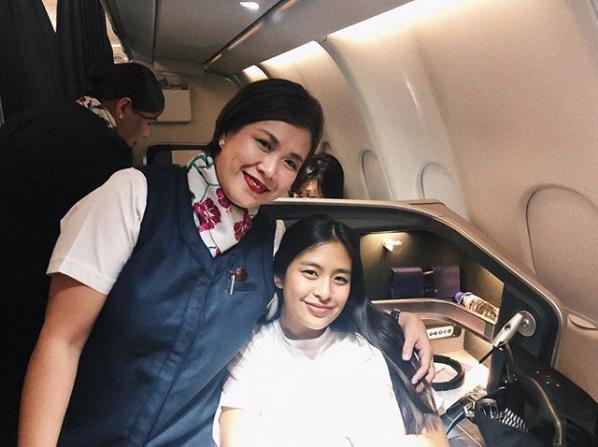 Gabbi Garcia pays tribute to her flight attendant mom