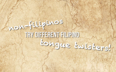 WATCH: Expats try out Filipino tongue twisters