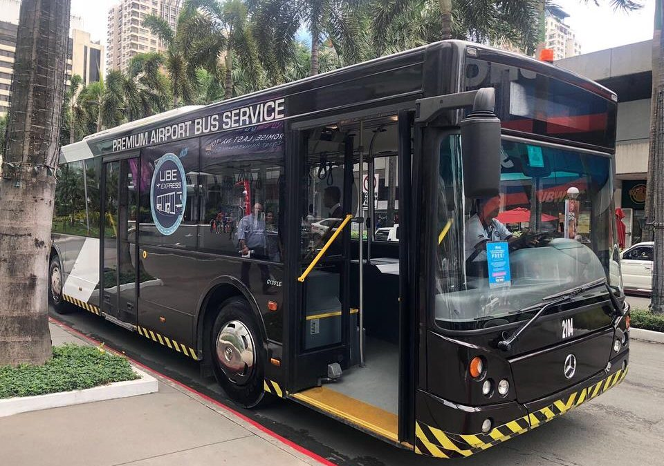 NAIA-Ortigas-NAIA P2P buses roll out