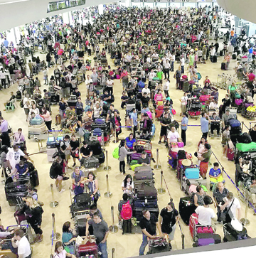PAL extends help to stranded OFWs in NAIA
