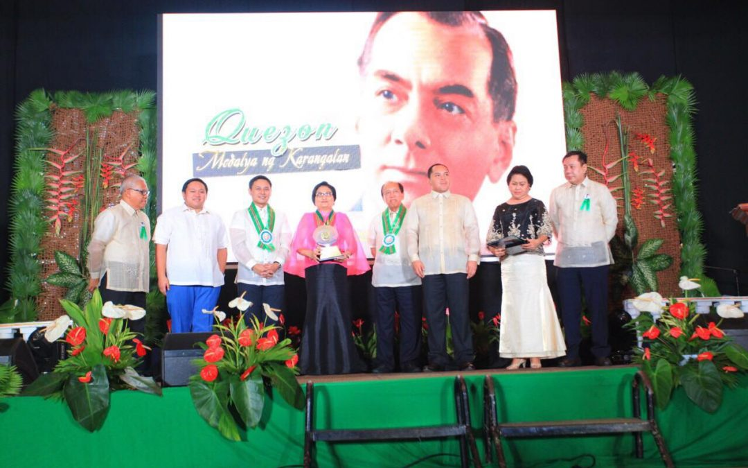 Incoming PH Ambassador to the UAE bestowed Quezon Province's Highest Award