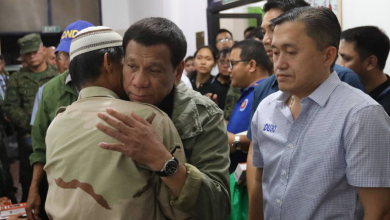 Photo of Duterte honors wounded soldiers of Basilan bombing