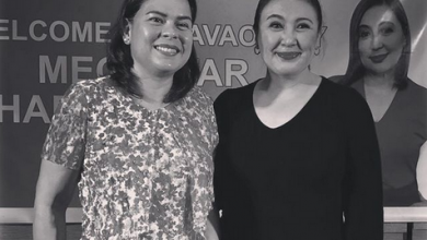 Photo of Sara Duterte meets her idol Sharon Cuneta