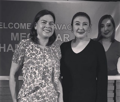 Sara Duterte meets her idol Sharon Cuneta
