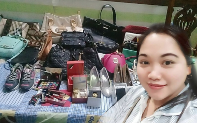 Employers gift Filipina with luxury items, financial aid
