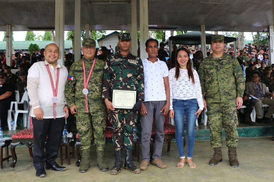Son of OFW tops this year's military course